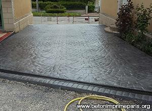 Béton Imprimé Saint Cloud Beton Imprimé Prix Au M Saint Cloud - Prix terrasse beton imprime